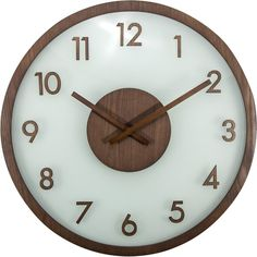 NeXtime loves integrating different materials, especially wood! They understand the importance of environmental sustainability and they appreciate the calm and peaceful feeling from the nature and the trees. With the sustainably-harvested wood and frosted glass, they compliment each other yet still displaying the distinguishing qualities of each material. With a simple design and the focus on the materials, this clock is timeless and will always fit in your interior.