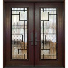 Home Interior Salas .Home Interior Salas Window Grill Design Modern, Grill Door Design, Door Gate Design, Window Design, Double Doors Exterior, Double Front Doors, Luxury Homes Interior, Luxury Decor, Interior Modern