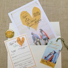 Invitation set by AYANO TACHIHARA Wedding Design