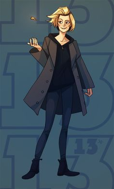 Official Doctor Who Tumblr. Doctor Who 13th Doctor fanart Jodie Whittaker