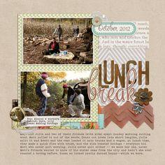 Ideas for Scrapbooking Picnics & Outdoor Meals | Debbie Hodge | Get It Scrapped