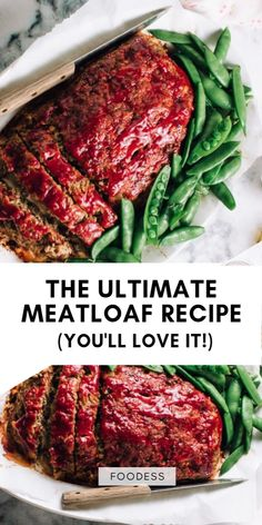 This is definitely the best meatloaf recipe you will ever try. With the classic ingredients like Worcestershire sauce, bread crumbs and ground beef and ground pork, it makes for a healthy, easy and quick dinner meal. Ground Pork Meatloaf, Pork And Beef Meatloaf, Beef Meatloaf Recipes, Best Meatloaf, Hamburger Recipes, Easy Meatloaf Recipe With Bread Crumbs, Homemade Meatloaf, Ultimate Meatloaf Recipe, Good Meatloaf Recipe