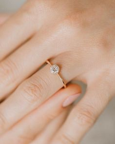 Our most simple and delicate engagement ring: Wishing Well. - Our most simple and delicate engagement ring: Wishing Well. Delicate Engagement Ring, Dream Engagement Rings, Classic Engagement Rings, Morganite Engagement, Engagement Ring Settings, Solitaire Engagement, Morganite Ring, Unique Rings, Beautiful Rings