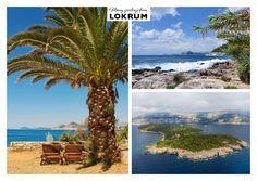 Viele Grüsse von Lokrum | Urlaubsgrüße | Echte Postkarten online versenden…