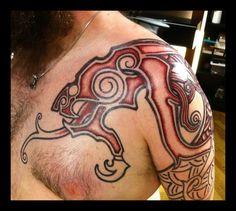 Mammen Wyrm by ~Meatshop-Tattoo on deviantART