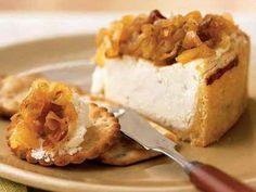 Savory Yogurt Cheesecake with Caramelized Onions