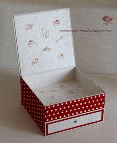 Солнечная нить: Коробка для швейных принадлежностей.