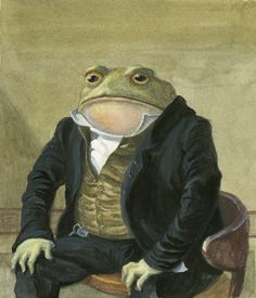 Colonel Toad Limited Edition Print by paintingbrooklyn on Etsy, $45.00