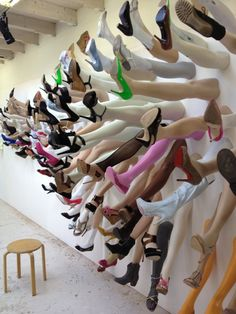 European Artist Uses Mannequin Legs for Public Art Project | The Mannequin Madness Blog