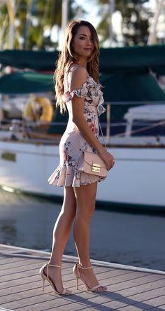 71ff4f420d6 Exquisitely pretty dark-haired hapa model Jessica Ricks at the marina