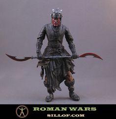 Star Wars as ancient Roman warriors
