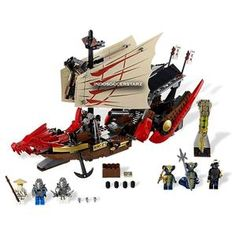 LEGO BELA 9762 NinjaGo Destiny's Bounty