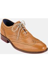 Cole Haan Air Colton Wingtip Oxford in Brown for Men (desert gold) - Lyst