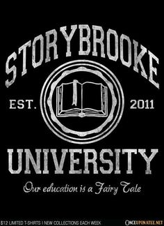 STORYBROOKE UNIVERSITY T-Shirt $12 Once Upon a Time tee at Once Upon a Tee!