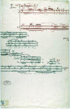 Pierre BOULEZ (1925-…). Troisième sonate pour piano. Formant 3…