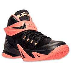 Men's Nike Zoom LeBron Soldier 8 Premium Basketball Shoes - 688579 414 | Finish Line