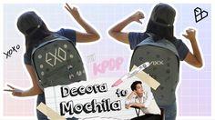 DIY K-POP : Decora tu mochila para el regreso a clases con EXO/SEVENTEEN...