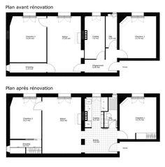 Plan De La Rénovation Du0027un Appartement Par Un Architecte Du0027intérieur