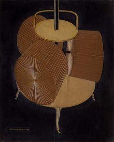 """""""チョコレートグラインダー第2番"""", オイル バイ Marcel Duchamp (1887-1968, France)"""