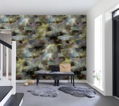 Hey, look at this wallpaper from Rebel Walls, Textile Graffiti, dusk! #rebelwalls #wallpaper #wallmurals