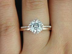 http://rubies.work/0387-sapphire-ring/ 7mm plain barra 14kt rose gold diamonds wedding ring