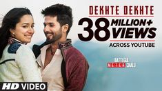 Dekhte Dekhte Lyrics - Batti Gul Meter Chalu: Atif Aslam refreshingly sung this soulful song of the Nusrat Fateh Ali Khan's famous song/qawwali Sochta Hoon. Hindi Old Songs, All Songs, Love Songs, Drama Songs, Song Hindi, Bollywood Music Videos, Latest Bollywood Songs, Shahid Kapoor, Shraddha Kapoor