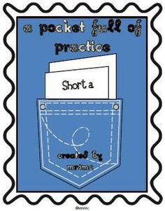 Free-A Pocket Full of Practice is a collection of quick activities to practice a specific skill. These activities can be used in group work, centers, or...