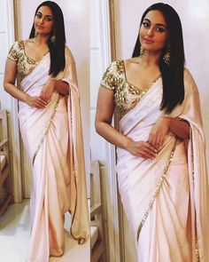 Buy Bollywood Replica Sonakshi sinha peach colour georgette saree in Mauritius, Fiji, Australia, UK, USA and Canada through online shopping. This bollywood lehenga comes with the worldwide free shipping offer