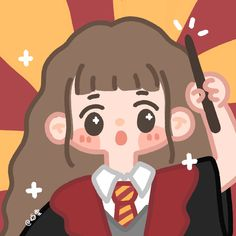 Cute Harry Potter, Harry Potter Artwork, Cute Little Drawings, Cute Drawings, Kawaii Drawings, Cartoon Drawings, Cartoon Art Styles, Cute Doodles, Kawaii Wallpaper
