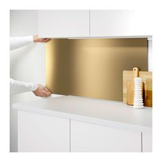 IKEA LYSEKIL wall panel Protects the wall against soiling and makes cleaning…