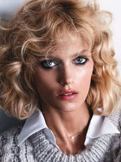 elinklingdotcom:  In Vogue Germany's latest issue, Anja Rubik pays an homage to Kim Basinger in the movie '91/2 weeks'. See the full story ...
