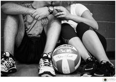 Living Radiant Photography | National Wedding Photographer | Best Destination Wedding Photographer |Volleyball Inspired Engagement Session | Stevenson University