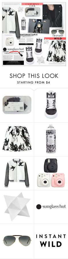 """""""♠ Instant Wild! [read]"""" by paty ❤ liked on Polyvore featuring Post-It, adidas, Thakoon, R+Co, Dot & Bo, Ray-Ban, beoriginal, shadesofyou and DoNotRaidMyItems"""