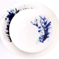 Free wheelie. My indigo bowls, now available at @dearrivington_official 37 Great Jones St, NYC.