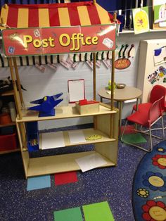 Group Activities, Indoor Activities, People Who Help Us, Role Play Areas, Eyfs Classroom, Continuous Provision, Post Office, Nursery, Celebrations