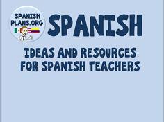 Pinterest Board for Spanish Teachers,  https://www.pinterest.com/spanishplans/spanish/