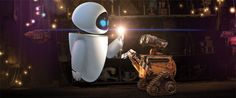 WALL-E the movie is about WALL-E the cutest lil robot you've ever clamped eyes on…. a computer-animated science fiction film, produced by Pixar and directed by An… Disney Pixar, Film Disney, Disney Couples, Disney Love, Disney Magic, Disney Duos, Disney Nerd, Disney Fairies, Disney Animation