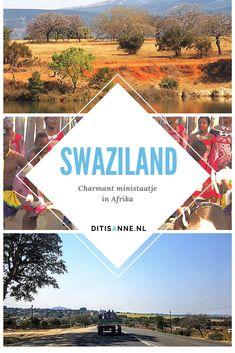 Tijdens onze rondreis door Zuid-Afrika kwamen we ook door Swaziland. Een verrassend fijn land om te verblijven. We bezochten het prachtige Mlilwane Sanctuary, snoven wat van de Swazi cultuur op en gingen naar een leuke markt in Mbabane. Ik vond het landschap en de natuur van Swaziland verrassend mooi en we hadden eigenlijk veel te weinig tijd in dit ministaatje! #rondreis #swaziland #zuidafrika #afrika #mbabane # Africa Travel, South Africa, Safari, City, Africa, Cities