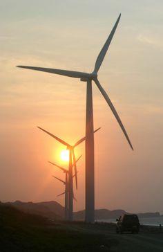 energy - Bangui Wind Farm, Ilocos Norte, Philippines