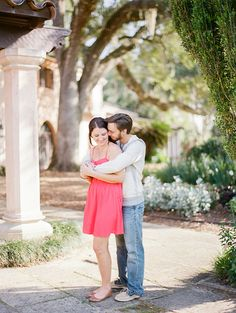 Kt Crabb Photography | Bok Tower Gardens Engagement | Fine Art Film Wedding Photography | Contax 645 l Orlando | Florida | Destination >> Blog