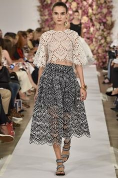 Oscar de la Renta womenswear, spring/summer 2015, New York Fashion Week