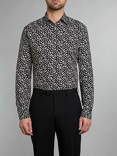 Floral slim fit shirt by Paul Smith #paulsmith #floral