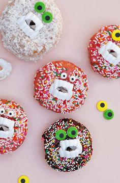 Monster Donuts! the funnest donuts we've seen yet!
