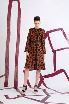Tsumori Chisato Pre-Fall 2014 Collection Slideshow on Style.com