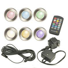 Low Voltage LED Multi Color Deck Light