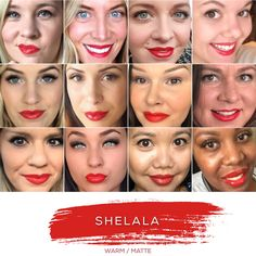 SHELALA - Love this shade? You can order it here: www.lastinglip.ca If it's currently out of stock, it wont be listed on the website so feel free to message me via my Facebook Page at www.facebook.com/lastinglip and I'll get you one. #lipsense #shelala #lastinglip #senegence