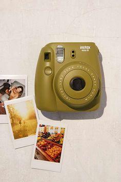Slide View: 1: Fujifilm X UO Custom Color Instax Mini 8 Instant Camera