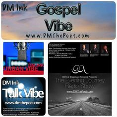 Tune in to listen in and check out the DM Ink Broadcast Network! -Gospel Vibe -Urban Vibe -Talk Vibe Listen to talented gospel contemporary/hip hop artist, relevant news topics and the hottest urban music out!! #LosAngeles #California #Atlanta #Georgia #Radio #Internet