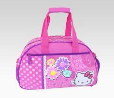 Hello Kitty Overnight Bag: Spring Flowers