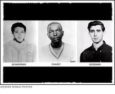 On June 22, 48 years will have passed since the Mississippi murder of three civil rights workers: Andrew Goodman, James Chaney and Michael Schwerner. They were killed at the start of Freedom Summer. Our U.S. civil rights history is still not taught very well -- so, take the time to learn the story of these three brave, young men, and your life will be enriched. Thanks. SK
